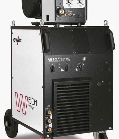 Аппарат для сварки MIG/MAG со ступенчатым переключением EWM Wega 501