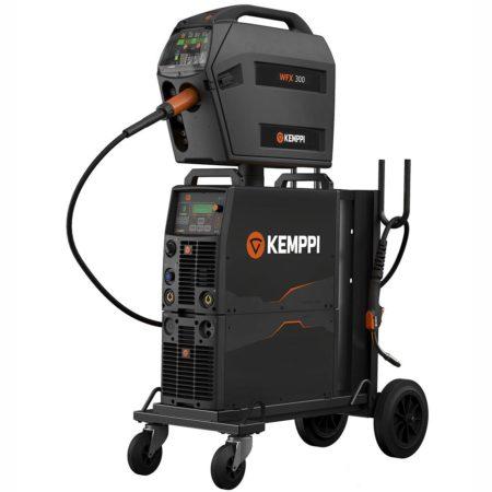 Модульный цифровой сварочный аппарат Kemppi FastMig X Regular с подающими механизмами WFX 200/300