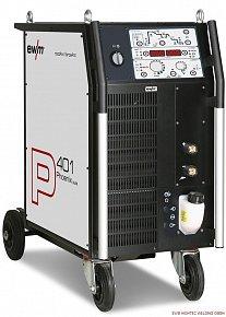 Компактный аппарат импульсной сварки MIG/MAG EWM Phoenix 401 Puls